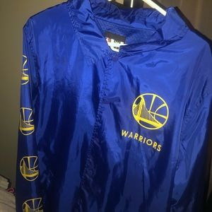 Warriors windbreaker jacket